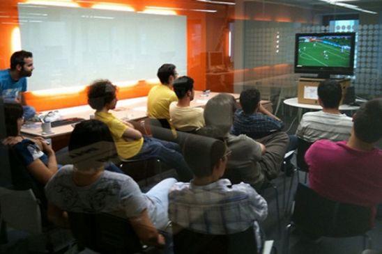 Mundial en la oficina